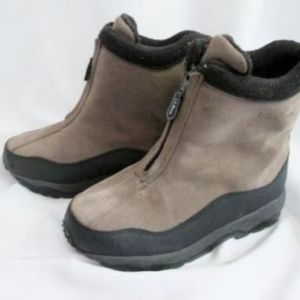 Womens L.L. BEAN Suede Leather HIKING Field Boots